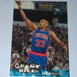 1995-96 Topps Stadium Club Detroit Pistons Basketball Card #30 Grant Hill